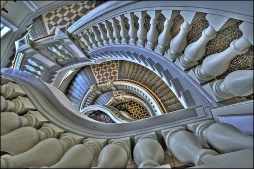 45 спиральных лестниц 27