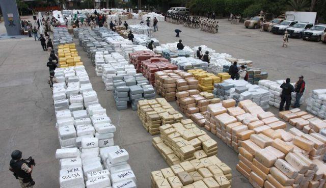 Что бы вы сделали со 134 тоннами конфискованной марихуаны?