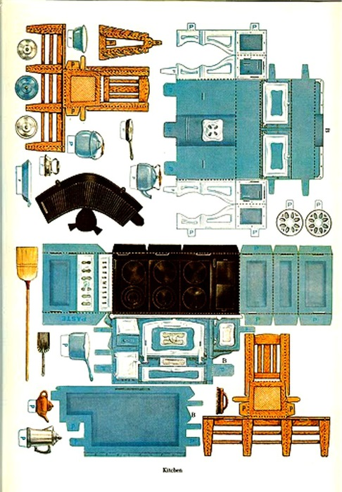graphic regarding Free Printable Dollhouse Furniture Patterns called Paper Household furniture Templates. typical paper doll home