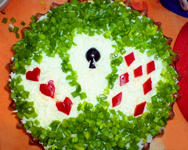 Украшение салатов на детский день рождения форум фото