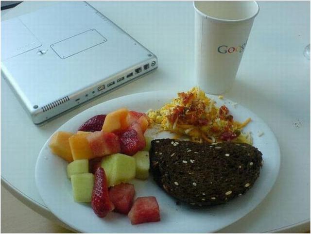 Чем питается Google (фотографии)