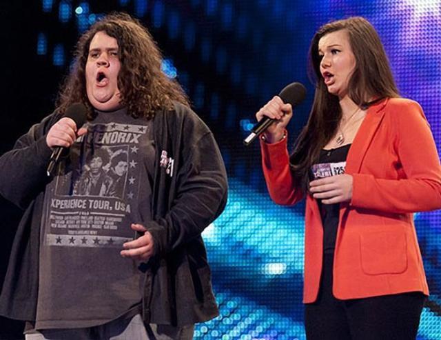 Юноша потряс шоу своим голосом. Британия ищет таланты. Видео