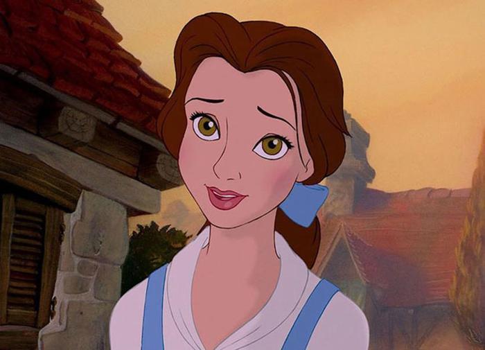 Как выглядят героини мультфильмов Диснея без макияжа