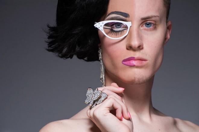 То ли девушка, а то ли виденье… Фотопроект с женско мужскими портретами