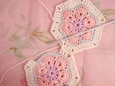 Flower crochet piece AFRICAN FLOWER for knitting toys (26) (400x300, 83Kb)