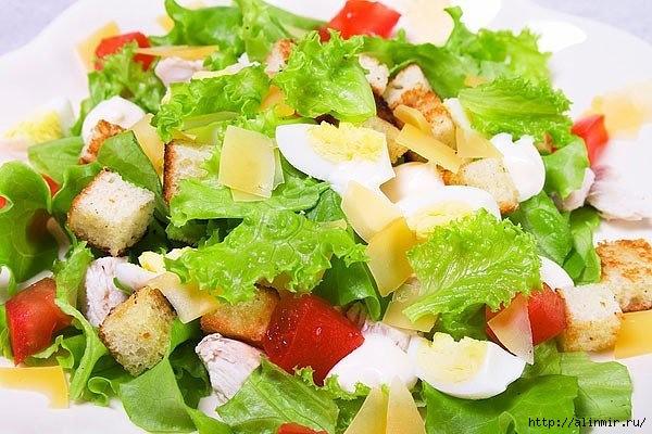 Салат «Цезарь»   5 рецептов!