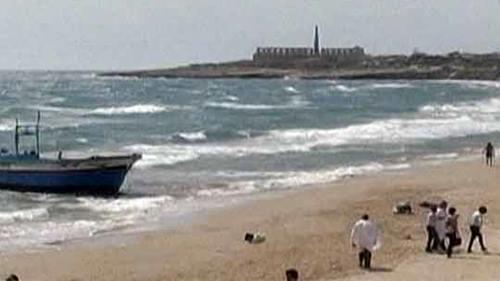 Лампедуза. Траур по жертвам кораблекрушения в Италии