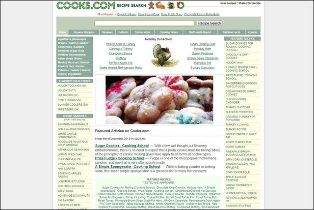 Самые популярные иностранные сайты по кулинарии. Обзор и описание сайтов