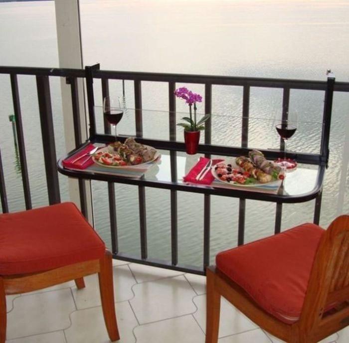 Мебель для маленького балкона: 15 стильных и практичных примеров