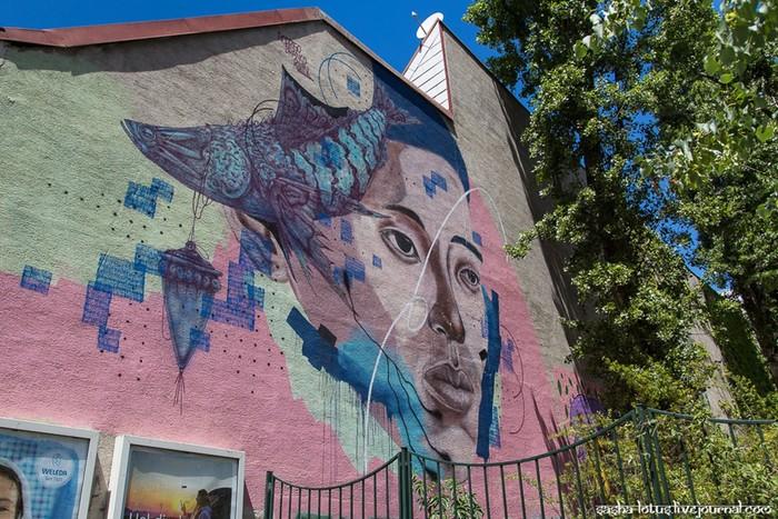 Стрит арт в столице Австрии