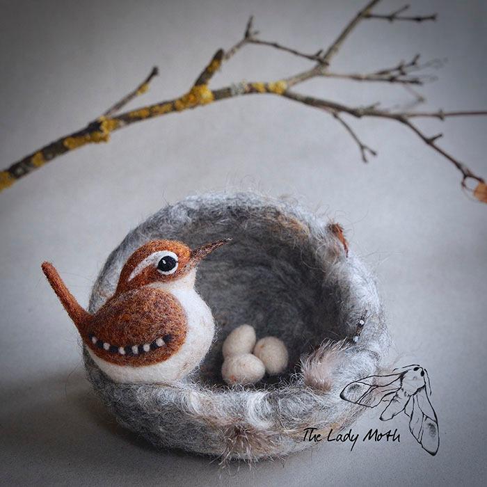 Удивительные войлочные игрушки от художника самоучки