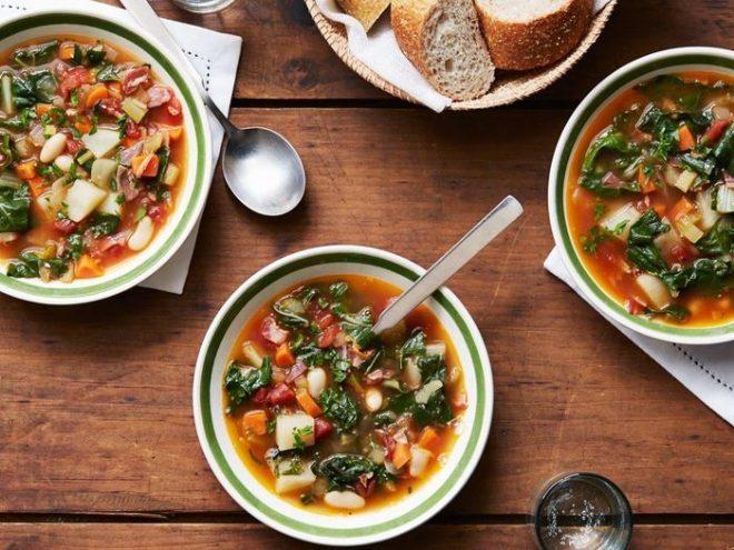 Минестроне   знаменитый итальянский суп