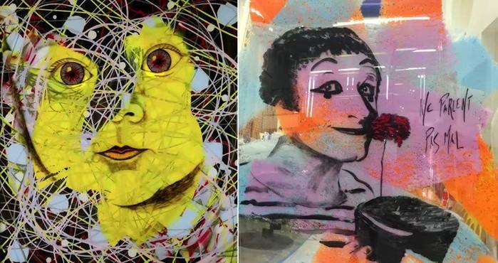 Джим Керри   талантливый художник