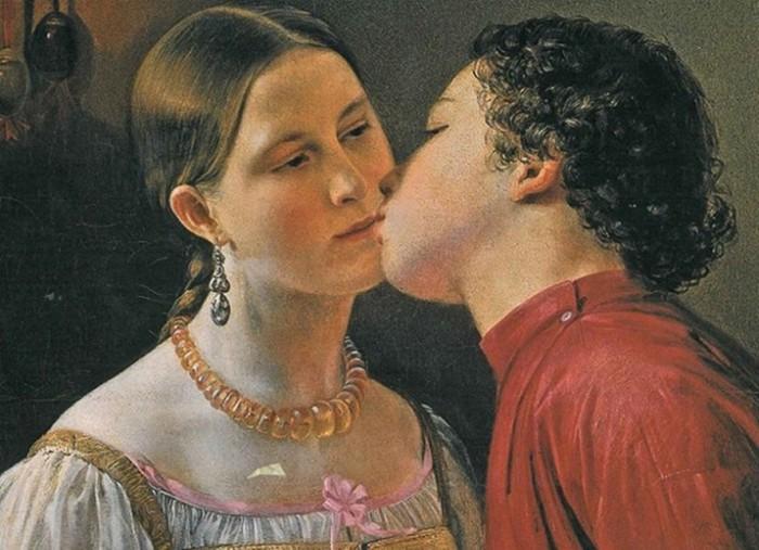 Как русские целуются