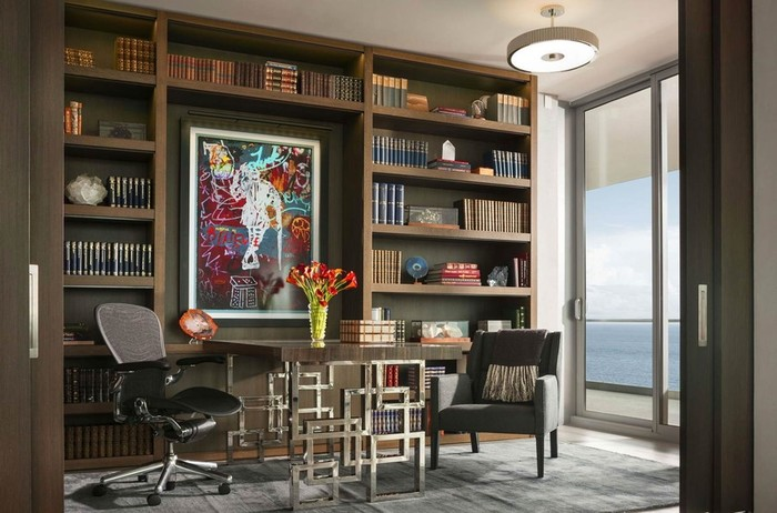 Дизайн и интерьер пентхауса в Майами