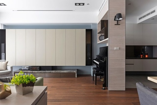 Современный дизайн квартиры для семьи с детьми