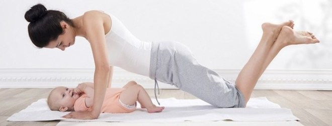 Гимнастика для похудения после кесарева