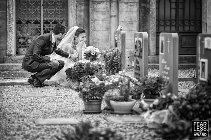 Самые впечатляющие свадебные фотографии 2017