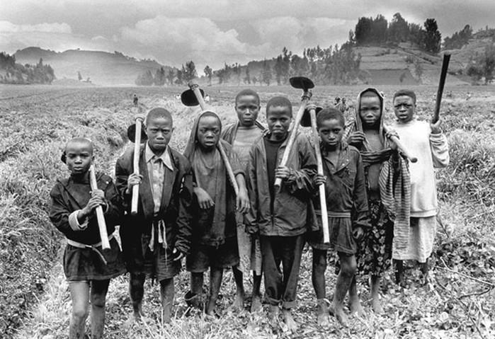 Уроки труда. Фотографии детского труда в разных странах