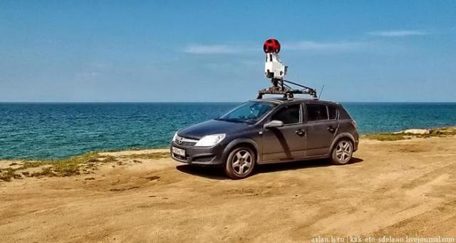 Панорамы для Google Street View