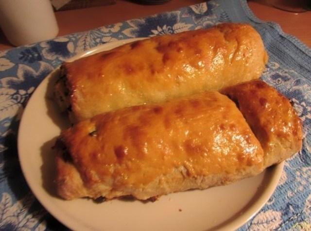 Вкусный картофельный рулет