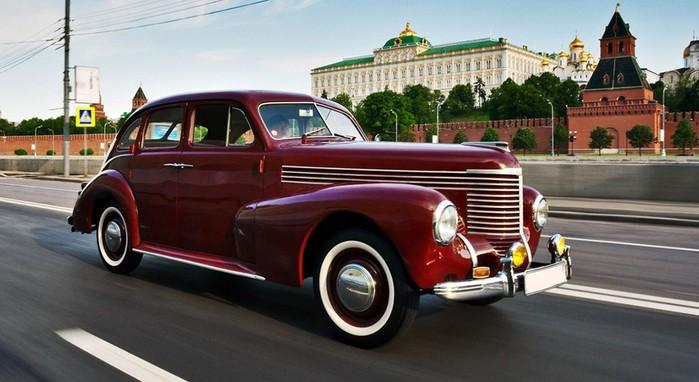 Автомобиль «Победа» ГАЗ М 20