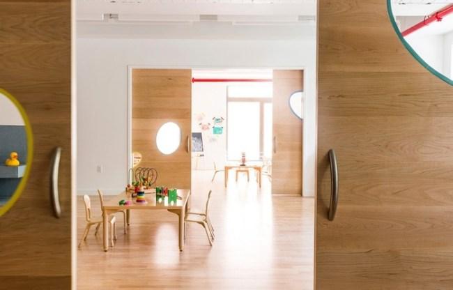 Дизайн и интерьер бруклинской школы сада