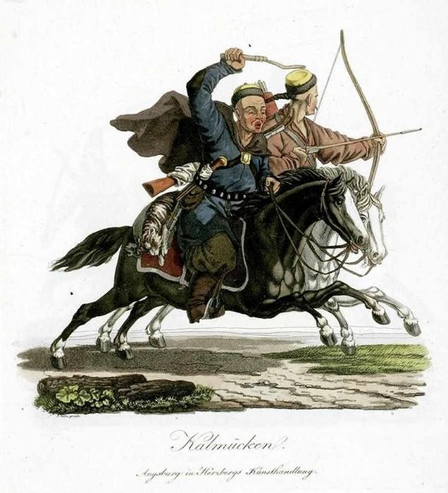 Какую роль сыграли калмыки в истории России
