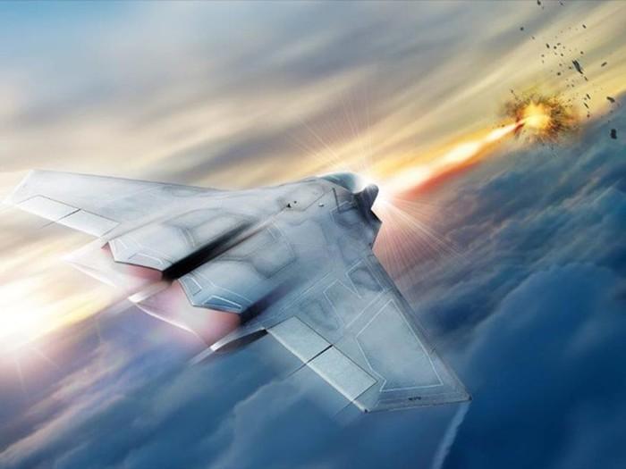 США возьмут на вооружение истребители с боевым лазером