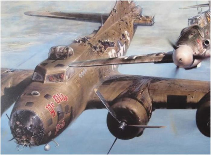Летчик, который пожалел вражеский самолет во время Второй мировой войны