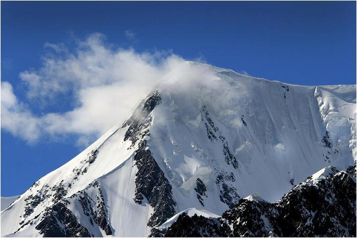 Гора Белуха   символ Алтая, самая высокая гора Алтая и Сибири (4506 м)