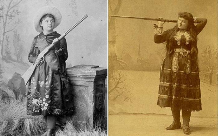 Лиллиан Смит: лучшая девушка стрелок Дикого Запада