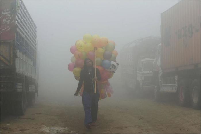 Как выглядит самый загрязненный воздух в мире. Токсичное небо Индии
