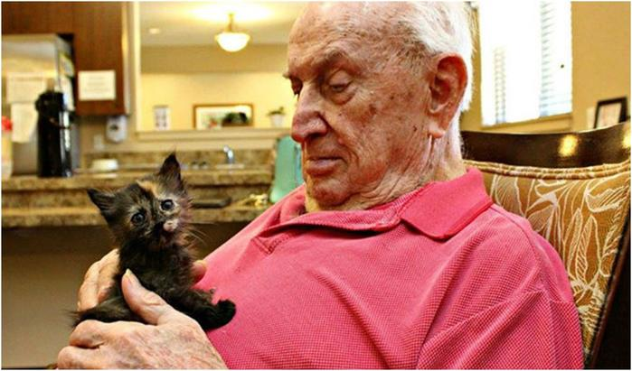 Дом престарелых, где заботятся не только о стариках