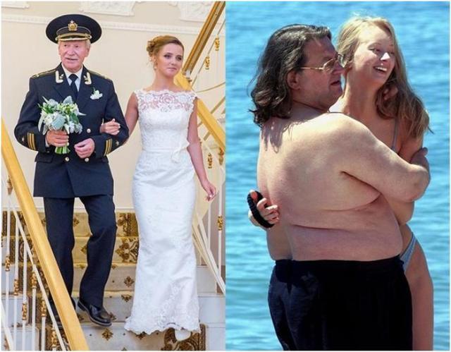 Звездные «пенсионеры» и их юные жены. Некоторые уже умерли...