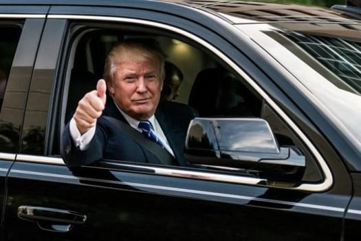 10 автомобилей Дональда Трампа
