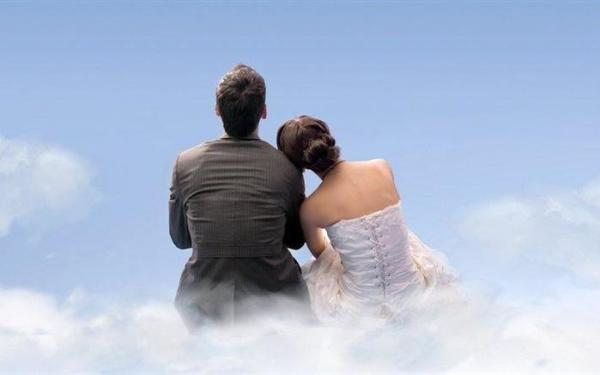 Жена видит мужа на небесах и говорит ему заветное слово, чтобы попасть в рай. Но не всё так просто!