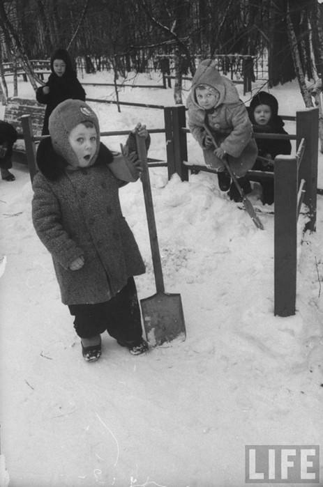 Советский детский сад 1960 года на фотографиях журнала Life