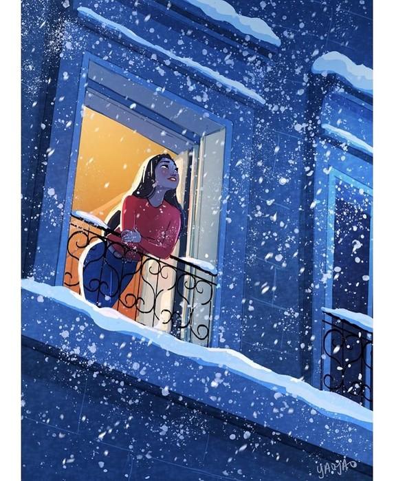 16иллюстраций для тех, кто живет один иабсолютно счастлив
