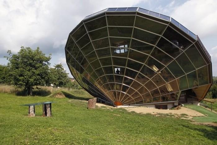 Необычные дома мира— результат неугомонной фантазии архитекторов