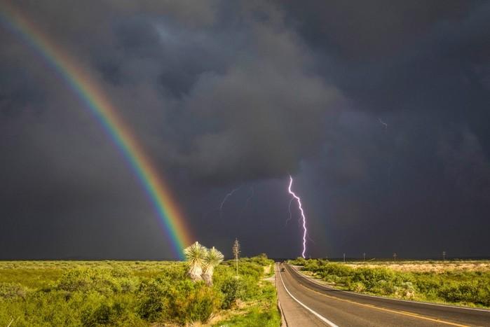 Бури и торнадо в объективе фотографа из Феникса