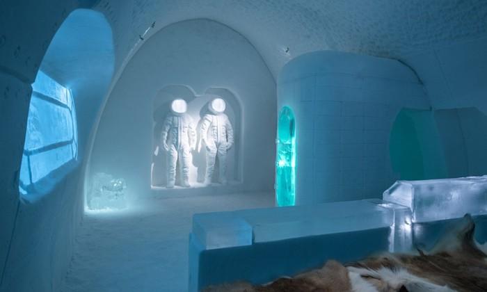 Фото Icehotel— красивый и необычный ледяной отель в Швеции