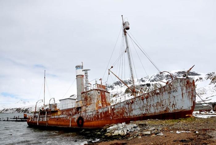 Фото: 25 брошенных кораблей в разных уголках мира