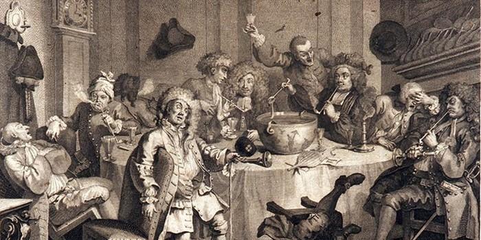 «Джентльмены в запое»: как и что пили триста лет назад