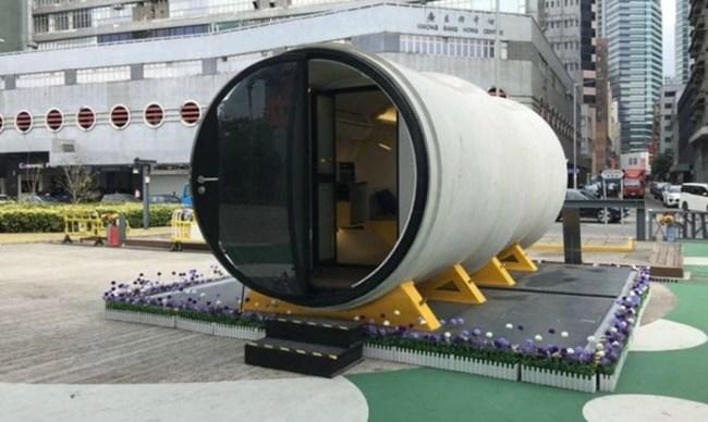 Китайцы скоро будут жить в водопроводных трубах