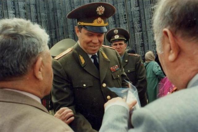 Где и как воевал генерал Рохлин