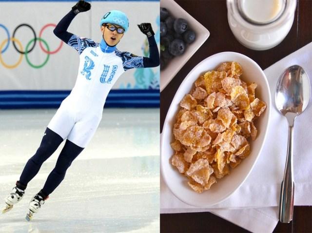Знаменитые спортсмены рассказали, чем они питаются