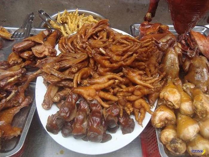 Шокирующая еда со всего мира