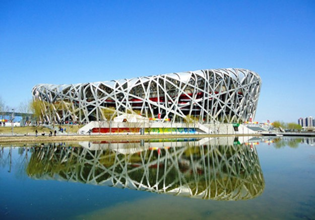 Китайский Национальный стадион в Пекине