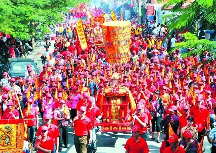 Мацзу— китайский праздник Небесной императрицы